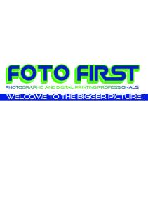 Foto First Logo