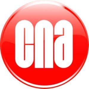 New CNA 3D logo