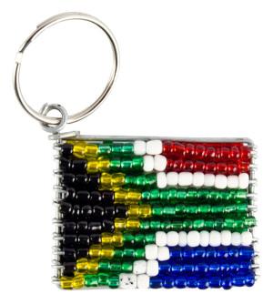 SA Flag Keyring