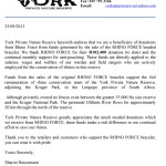 York Receipt Letter Sep 2013