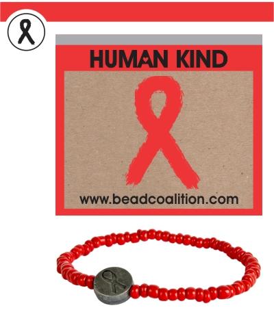 Card&Bracele HIV AIDS