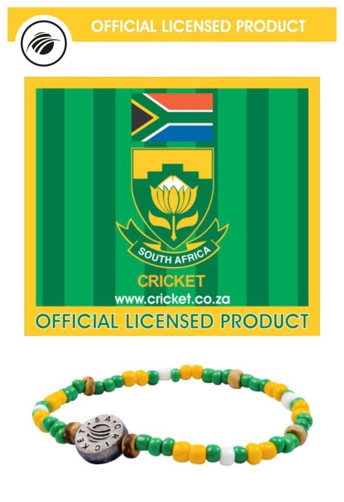 Cricket South Africa bracelet
