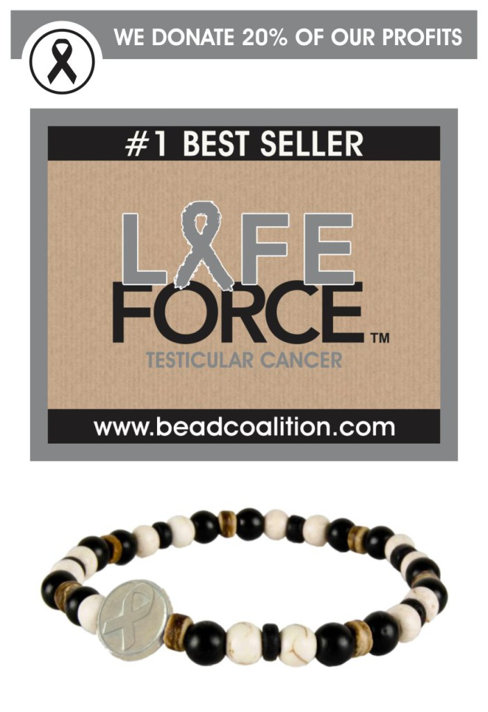 Men's Cancer bracelet