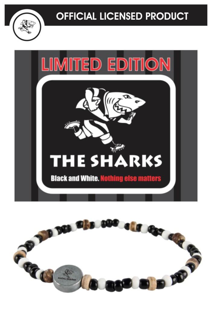 Sharks Rugby bracelet