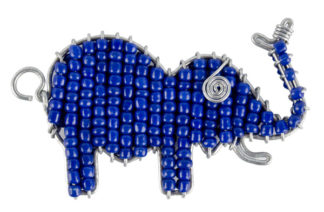 Big 5 Elephant Keyring