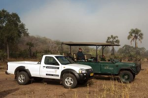 Wilderness Safaris Wildlife Trust supports about 30 conservations projects annually in Southern Africa- Nissan research vehicle